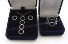 """Ring"" Set: Pendant, Earring and Ring size ""M"""