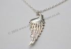 Fallen Angel Wing Pendant with chain