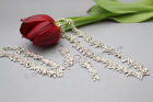 Silver Wedding Set: Earrings, Bracelet and Necklace